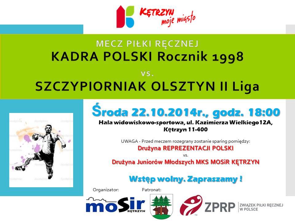 20141022 MKS MOSiR - Mecz p ręcznej KADRA - SZCZYPIORNIA_K _2