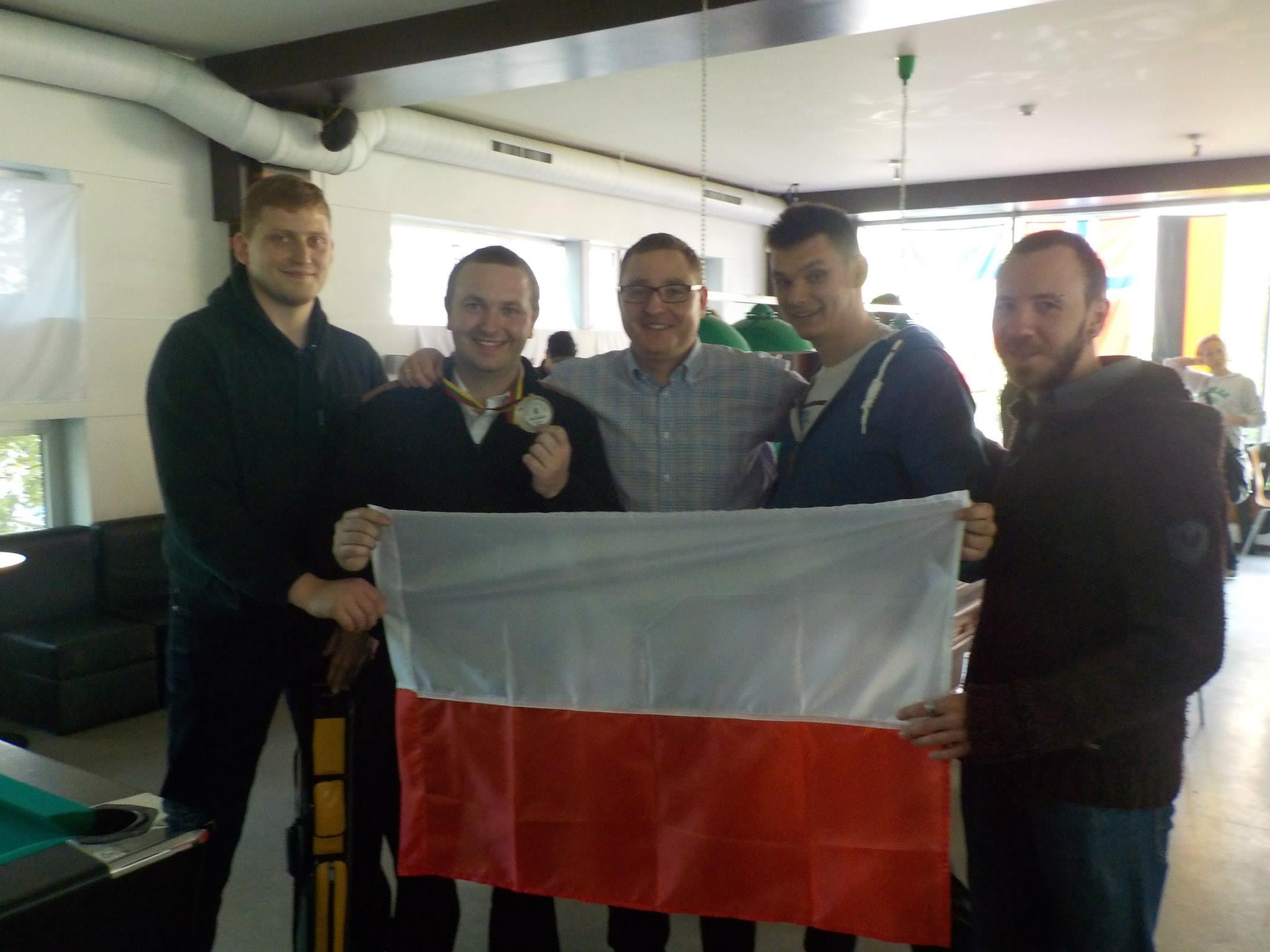 Kętrzyniacy na INTERNATIONAL TOURNAMENT 9-BALL Kaunas Open 2015 r.