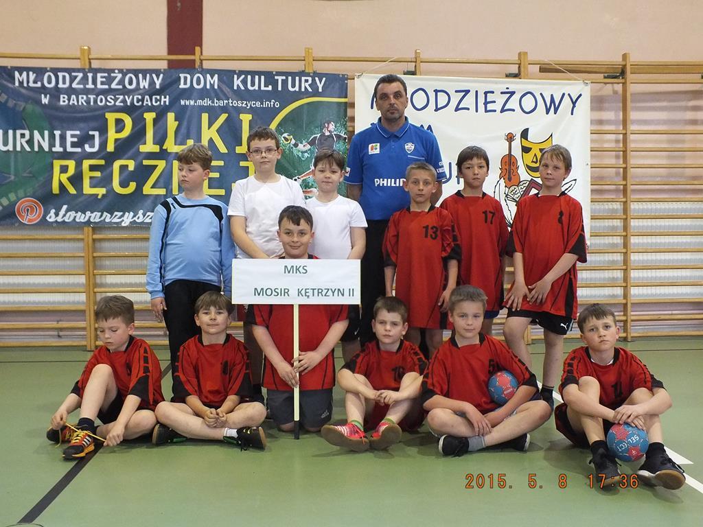 III Wiosenny Turniej (rocznik 2004) o Puchar Burmistrza – Bartoszyce 2015